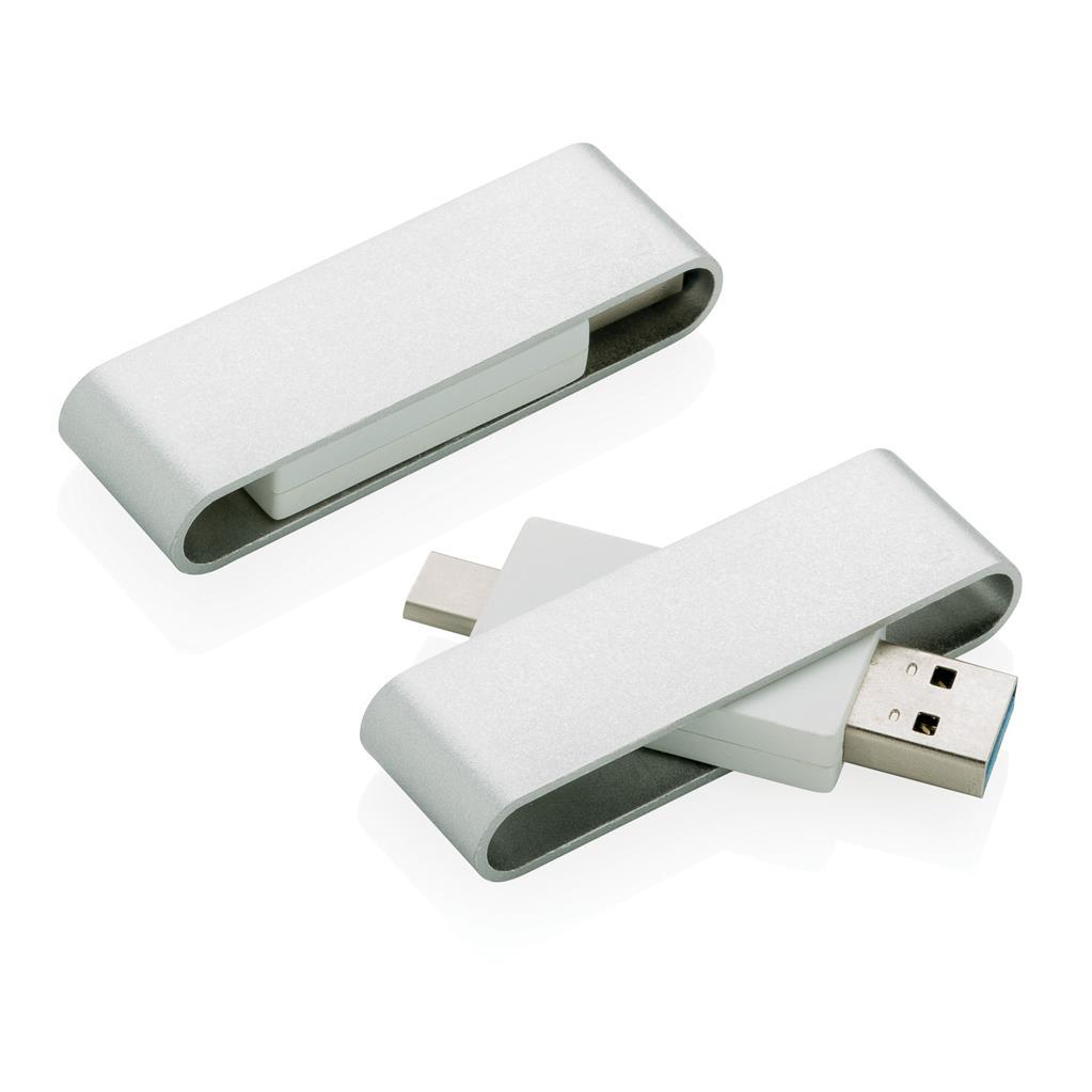 USB- ja Type C -muistitikku Pivot