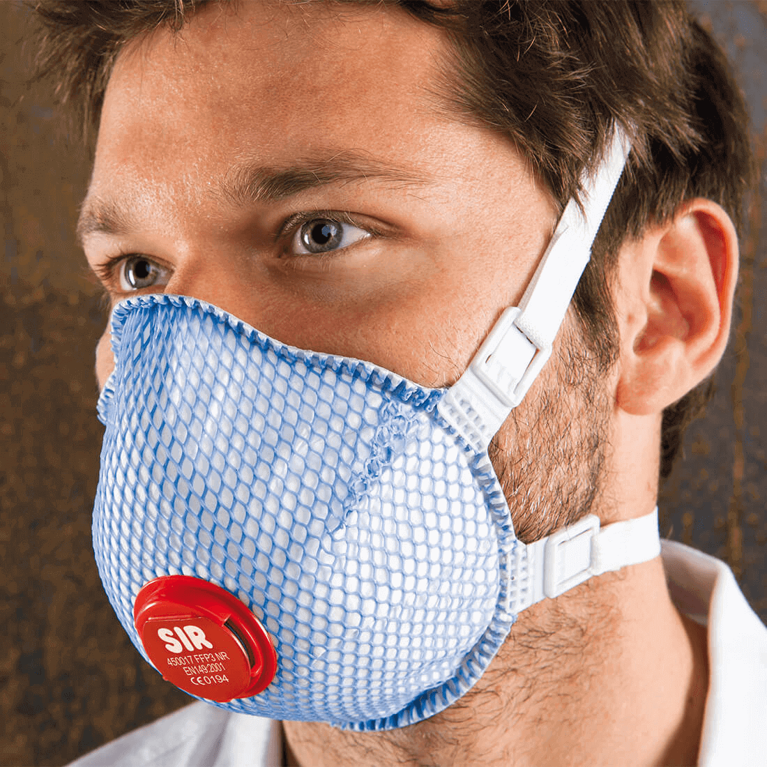 Hengityssuojain FFP3 NR D venttiili