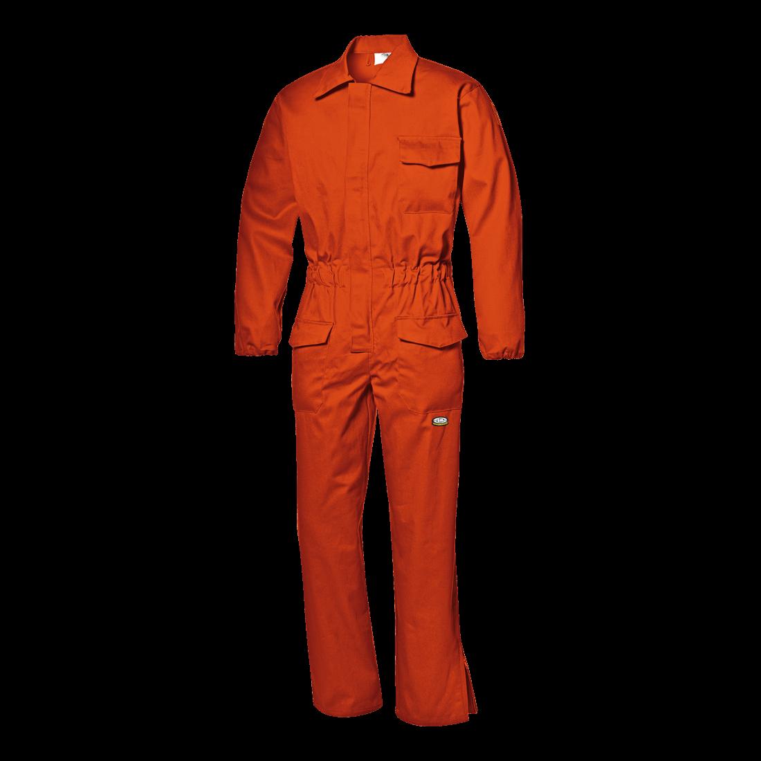 Palosuojatut puuvillahaalarit, Oranssi (ei varastoväri)