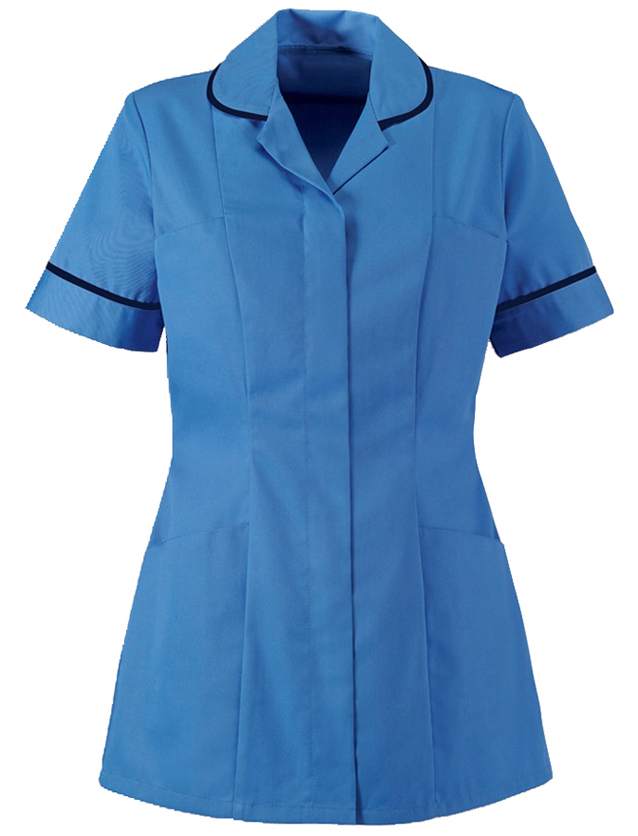 Naisten tunika Hospital Blue/Navy