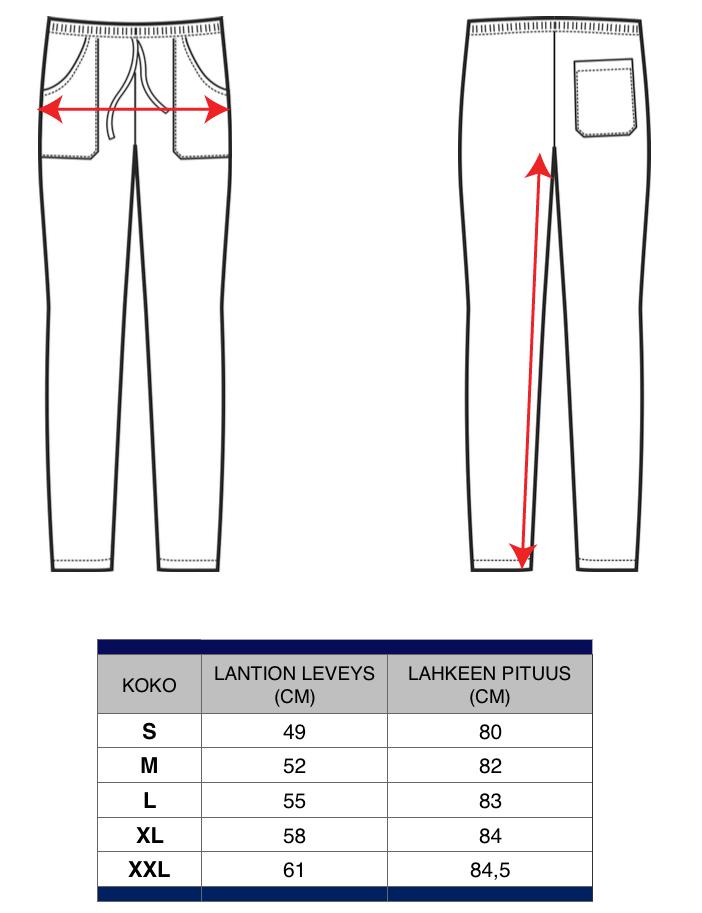 Suorat housut Pantalone mitat