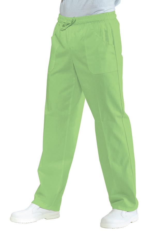 Suorat housut Pantalone Apple green