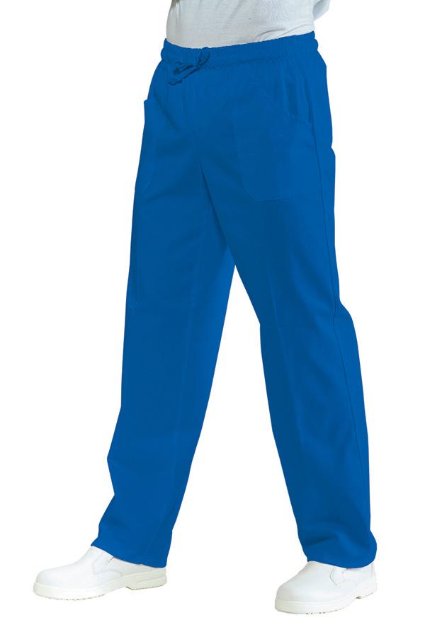Suorat housut Pantalone China Blue
