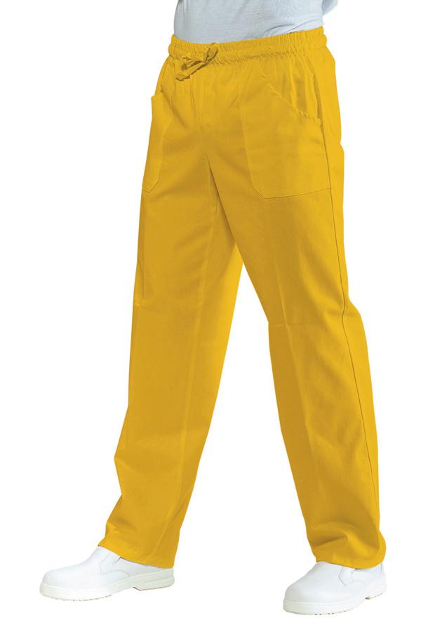 Suorat housut Pantalone Sun Yellow