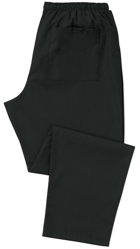 Kevyt hoitajan housu Musta