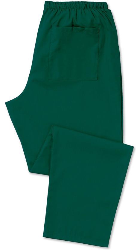 Kevyt hoitajan housu Pullonvihreä