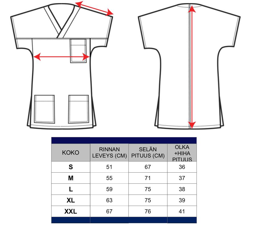 Unisex-paita Casacca Mitat