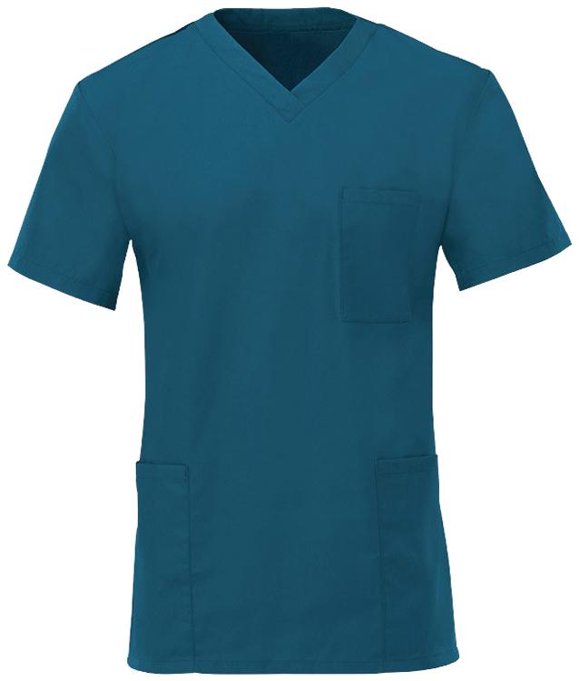 Kevyt hoitajan paita Carribean Blue