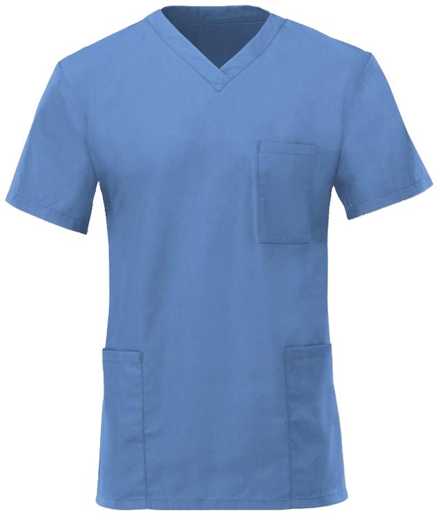 Kevyt hoitajan paita Metro Blue