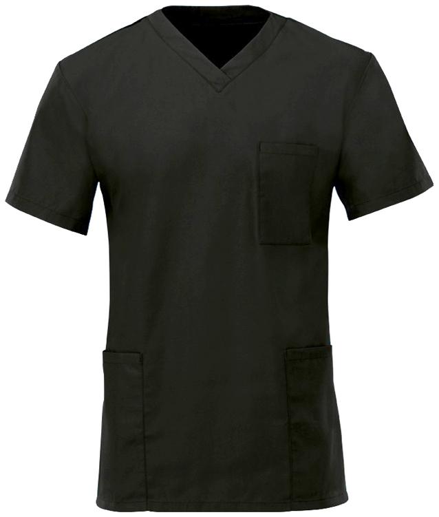 Kevyt hoitajan paita Musta