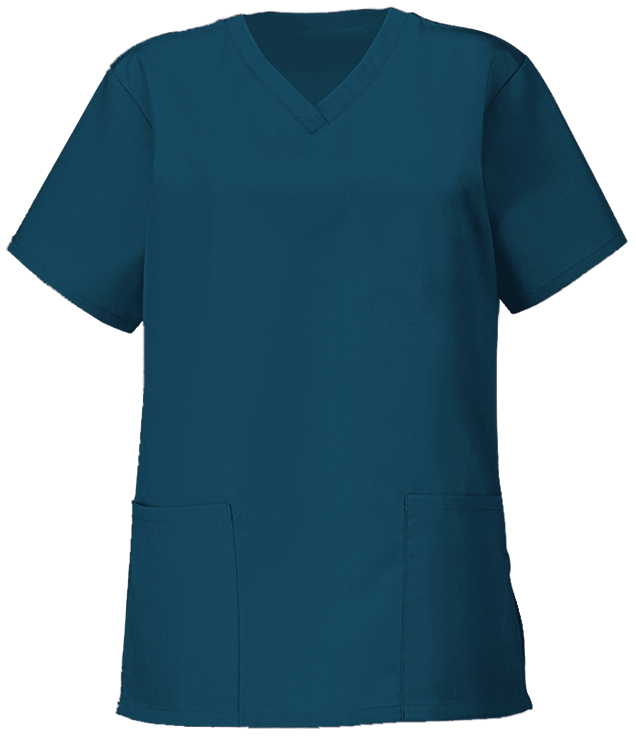 Naisten kevyt hoitajan paita Carribean Blue