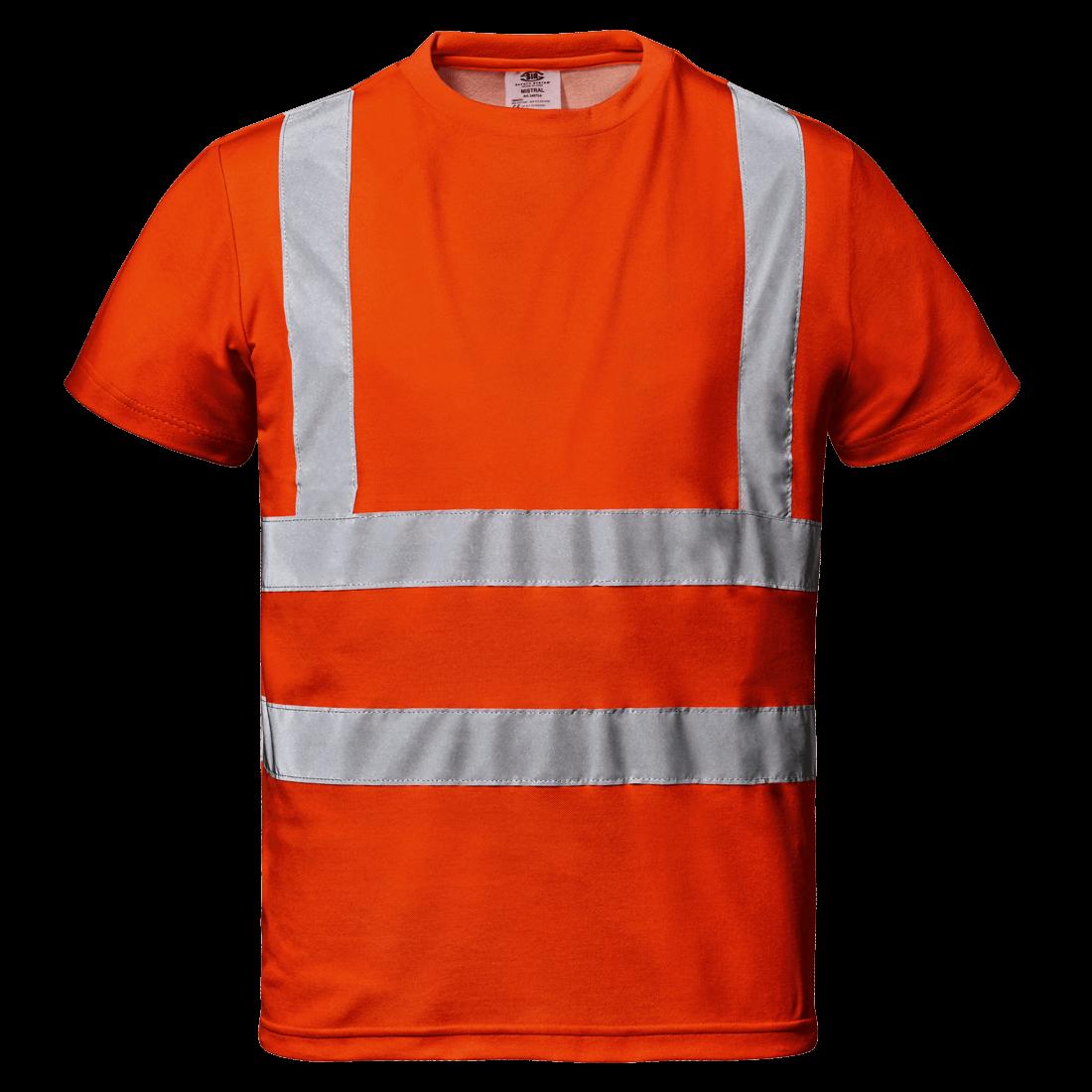 Mistral Huomio T-paita, oranssi