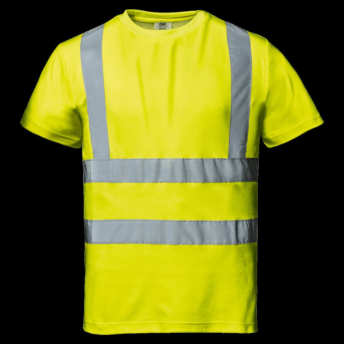 Mistral Huomio T-paita, keltainen