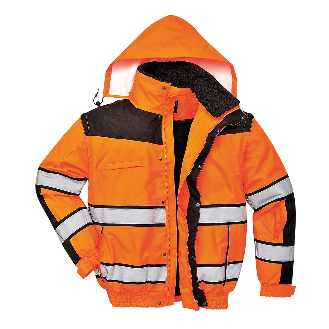 Hi-Vis Pilot Jacket Orange