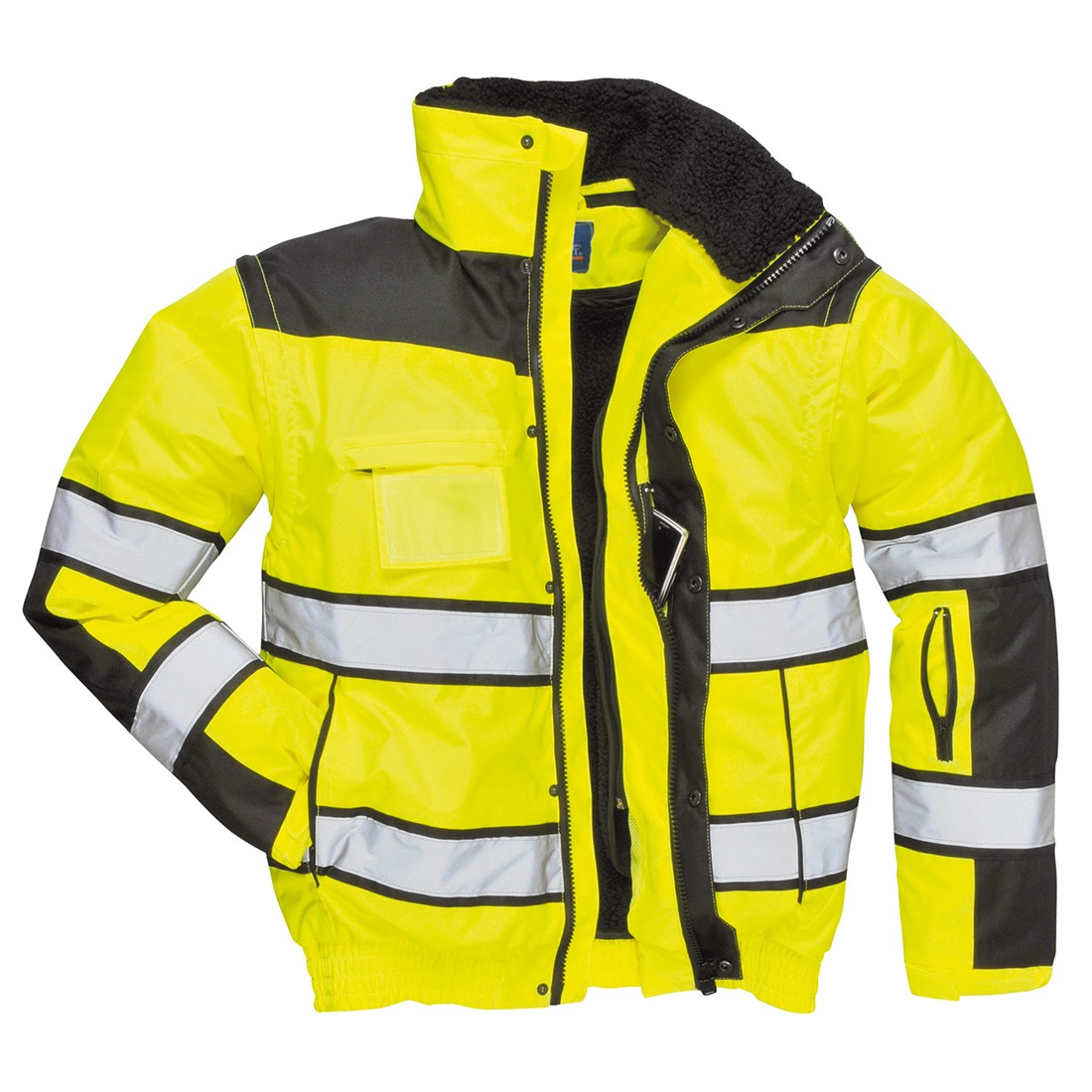 Hi-Vis Pilot Jacket Yellow