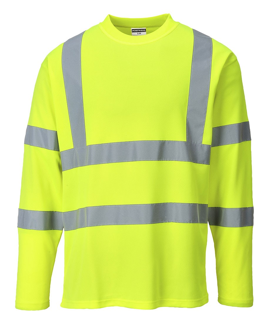 Hi Vis Long Sleeved T-shirt