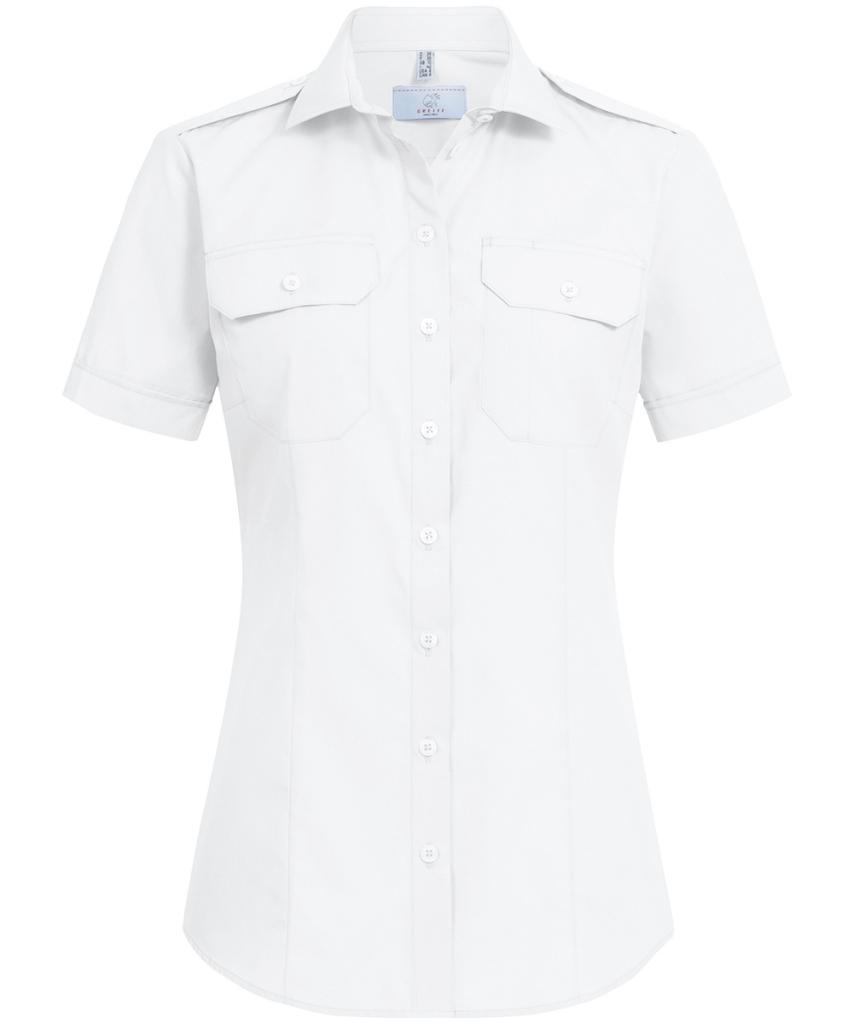 Naisten pilotti paita Greiff LH valkoinen