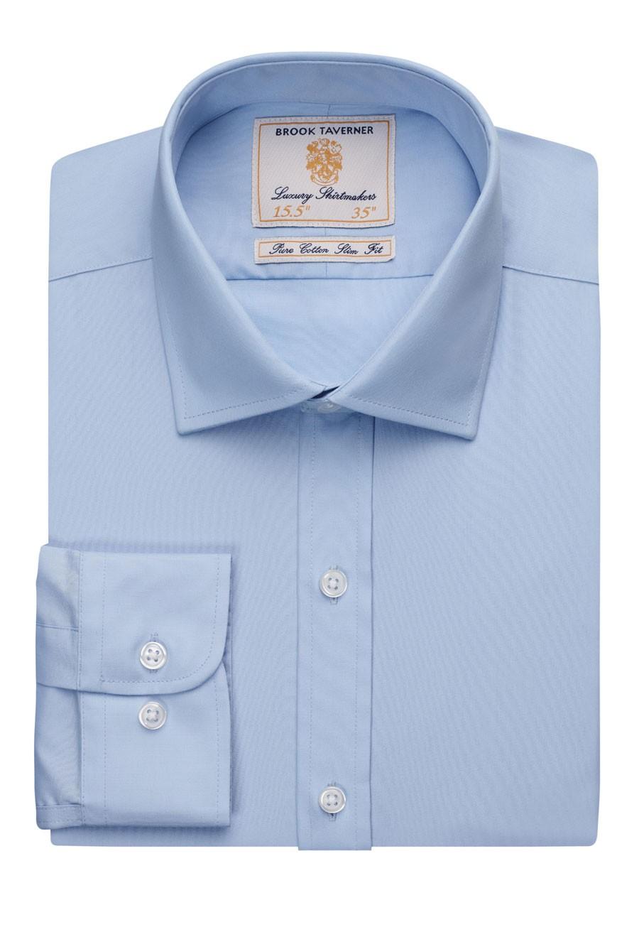 Slim fit -paita Chelsea, sininen