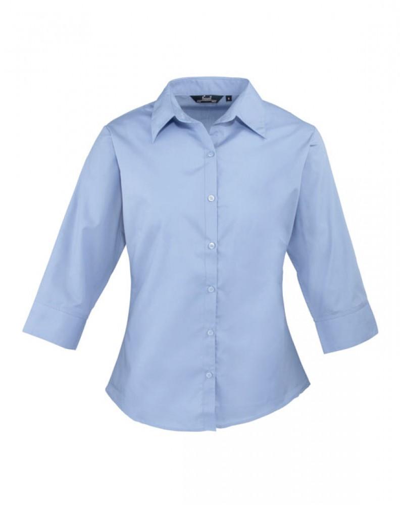 Naisten 3/4-hiha paita Mid Blue