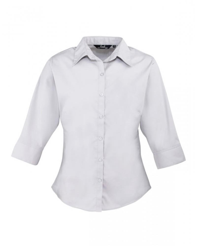 Naisten 3/4-hiha paita Silver