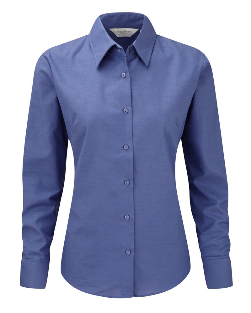 Naisten Oxford-paita Aztech-sininen