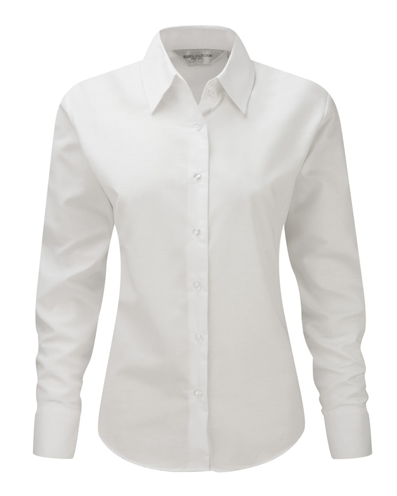 Naisten Oxford-paita valkoinen