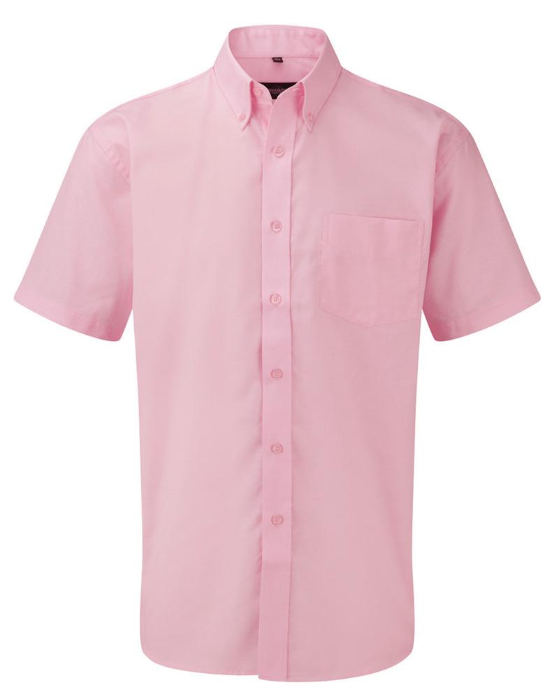 Oxford-kauluspaita pink