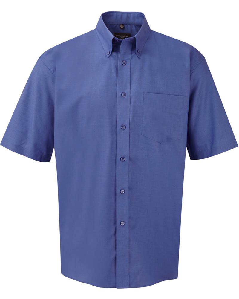 klassinen Oxford-kauluspaita az-blue