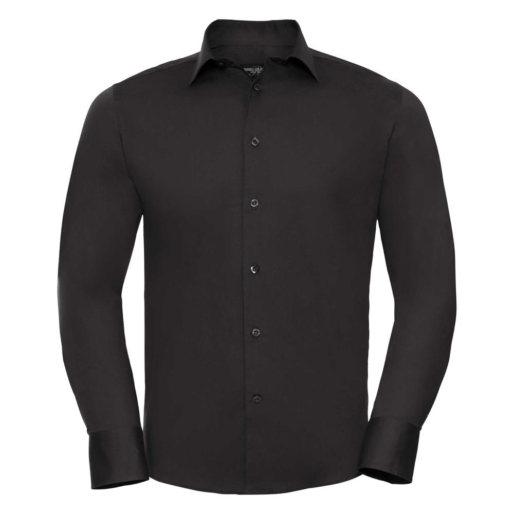 Istuva Stretch-paita, musta
