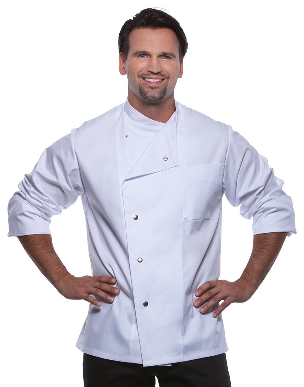 Kokkitakki Lars, valkoinen