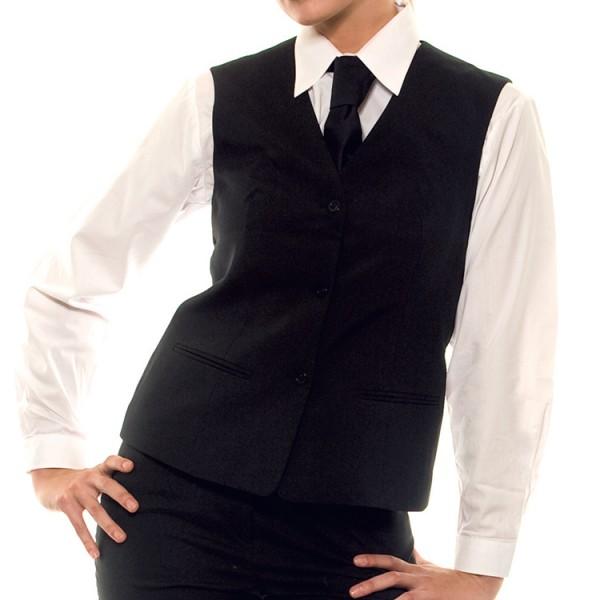Tarjoilijanliivi Basic musta
