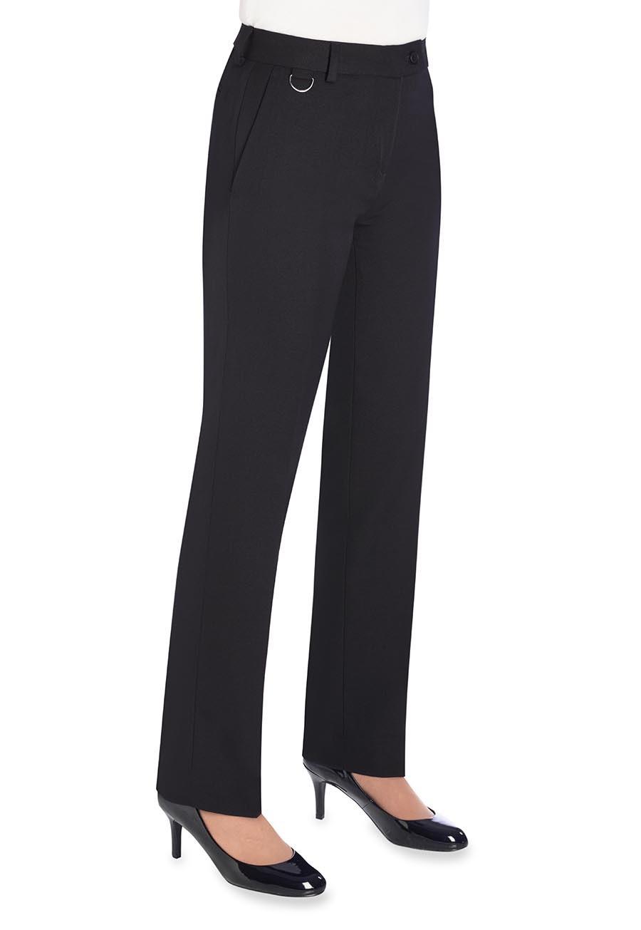 Naisten suorat housut, Navy