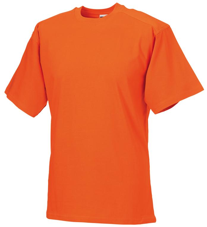 Russell 010M T-paita Oranssi