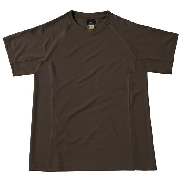 CoolPower Pro T-paita Ruskea