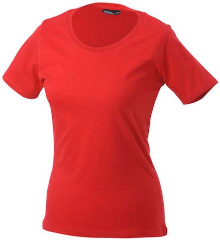 Naisten T-paita JN802 Punainen