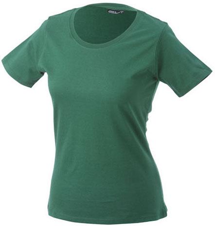 Naisten T-paita JN802 Pullonvihreä