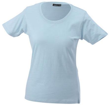 Naisten T-paita JN802 Vaaleansininen