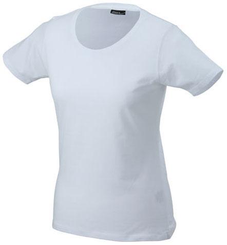 Naisten T-paita JN802 Valkoinen
