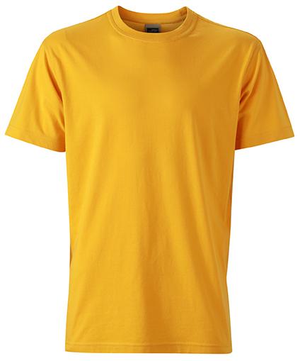 Miesten T-paita JN838 Kullankeltainen