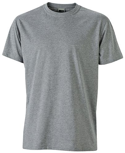 Miesten T-paita JN838 Meleerattu harmaa