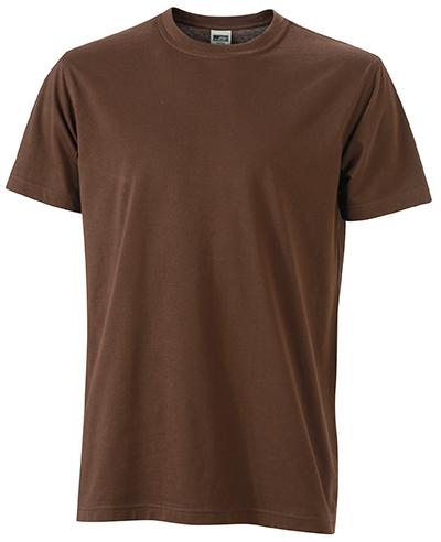 Miesten T-paita JN838 Ruskea