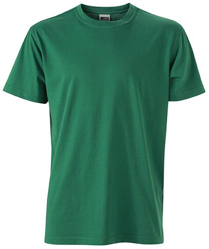 Miesten T-paita JN838 Tummanvihreä