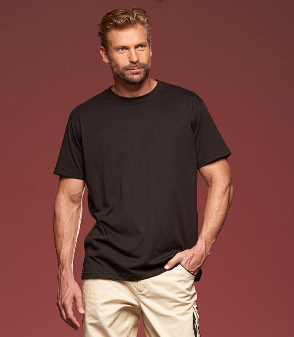 Miesten T-paita JN838 puuvilla-polyester-sekoitetta