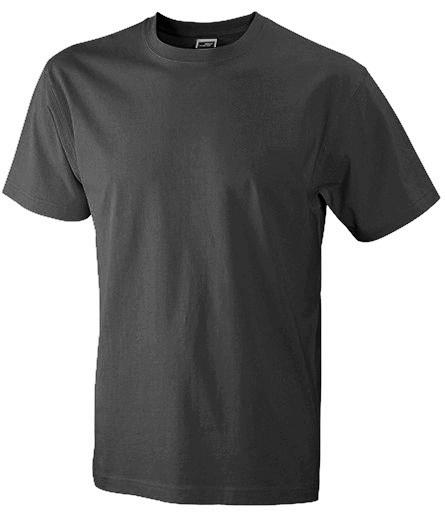 Miesten T-paita JN800 Hiilenharmaa