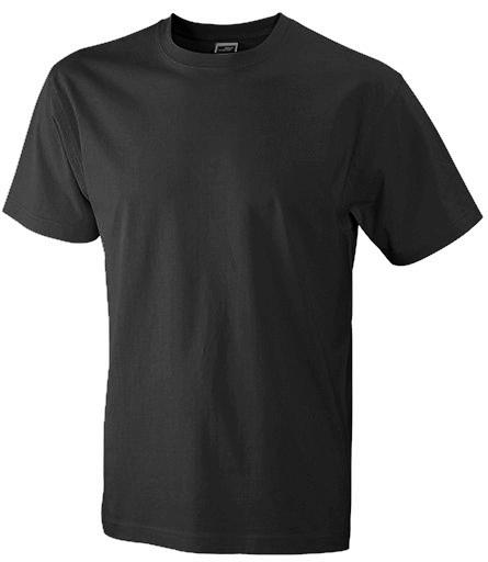 Miesten T-paita JN800 Musta