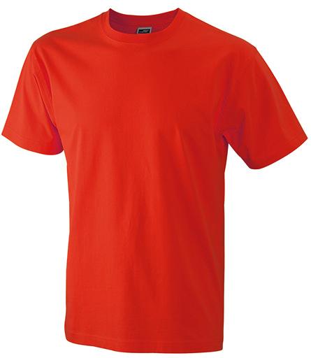 Miesten T-paita JN800 Punainen