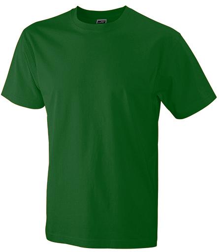 Miesten T-paita JN800 Pullonvihreä