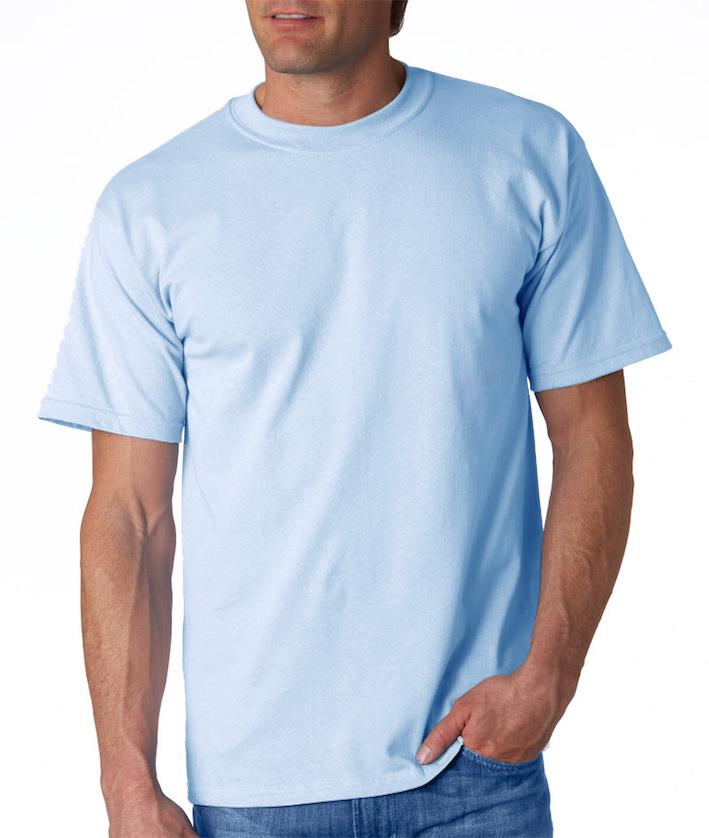 Miesten T-paita JN800 Vaaleansininen