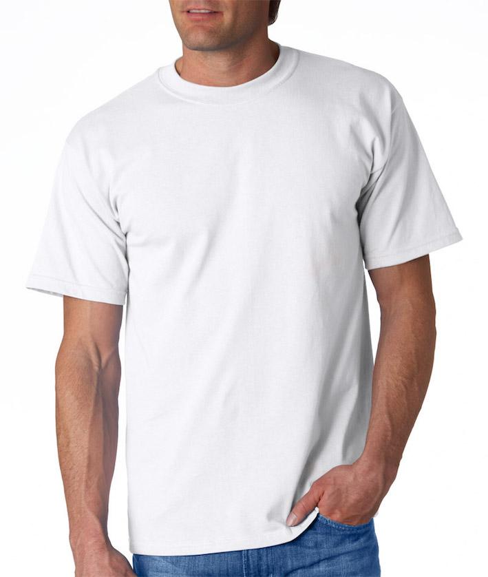 Miesten T-paita JN800 Valkoinen