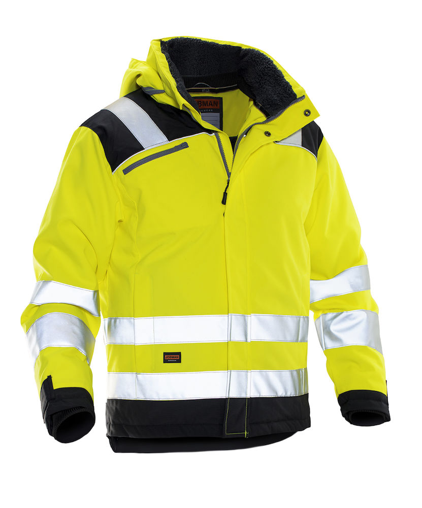 Jobman Talvitakit black/yellow